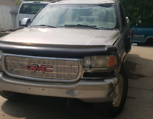 Parting out a 1999 gmc 4x4