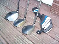 TAYLORMADE LADIES SLDR DRIVER - 3 wood and 5 wood