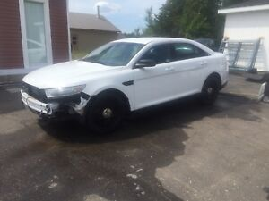 Ford Taurus Police 2014