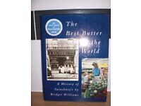 A HISTORY OF SAINSBURY'S HARDBACK BOOK - 223 PAGES- THE BEST BUTTER IN THE WORLD