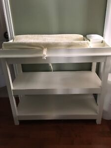EUC Pottery Barn Kids Hardwood Change Table