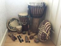 Beautiful selection of Celtic Instruments - Make an offer!