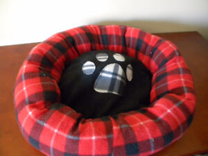 Pet bed and Haloween costume