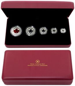 2015 Fine Silver Fractional Set: The Maple Leaf