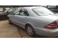 Mercedes S280 breaking for parts