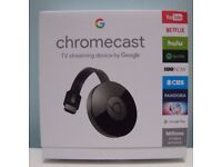 Brand New Gen 2 Chrome Cast