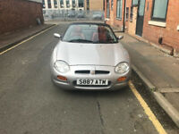 MG / MGF 1.8 CONVERTIBLE, 57000k - MOT TILL OCTOBER 2017 Very Clean Example £7