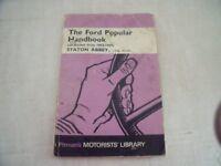 Ford Popular Handbook all models, by Stanton Abbey 1953-1959