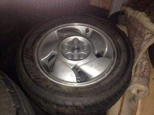 Pontiac mags and tires