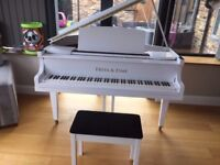 PIANO FOR PIANISTS - WHITE HIGH GLOSS BABY GRAND PIANO!