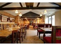 Part-time Bar and Waiting Staff required - immediate start