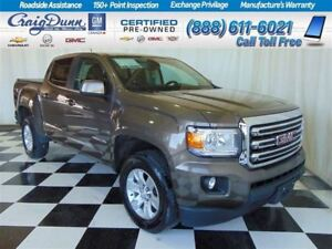2015 GMC Canyon SLE  Crew 4x4 * Power Seat * 1 Owner *