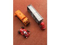 Roary, Mack Lorry and a Dust Cart