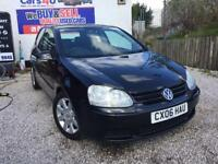 06 VOLKSWAGEN GOLF TDI SPORT 1.9 DIESEL IN BLACK 3 DOOR *PX WELCOME* MOT TILL OCTOBER 2017 £1200