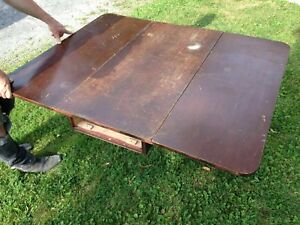 FREE! Antique Folding Dining Table