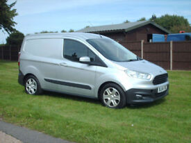 Ford Transit Courier 1.5TDCi trend silver air con