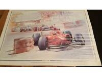 Formula 1 Craig Warwick prints