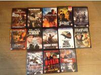 13 DVDs War Films