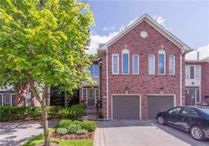 Executive End-Unit Townhome In Prestigious Bramalea Woods