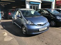 Toyota Aygo 1 Litre Petrol Manual 3 Door Hatchback 2008 Blue Stunning Car