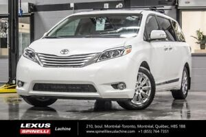 2015 Toyota Sienna LIMITED AWD; CUIR TOIT GPS DVD SOUGHT AFTER V