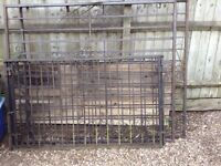 Wrought Iron Gates Lot: 2 Tall plus 2 Smaller but wide Driveway/ Security gates/ Garden gate