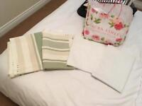 Laura Ashley fabric with John Lewis black out blind material