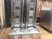 Double doner machine