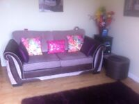 DFS Large 2 Seater Formal Back Deluxe Sofa Bed