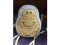 Hippo hand luggage