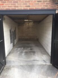 Lock up garage for rent Virgina water Station Approach £110 per month