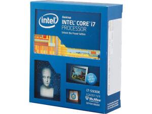 Intel i7-5930K BRAND NEW - NEVER OPENED
