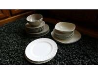 plates,bowls and side plates