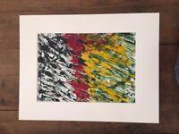 Contemporary Art - Originals - 3 x pieces