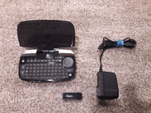 Logitech Bluetooth mini-keyboard + Bluetooth Adapter