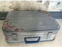 Retro suitcase/storage box