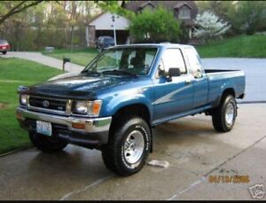 Looking for Toyota pickup