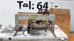 Electric Winch . 110 Powered . Many Uses .