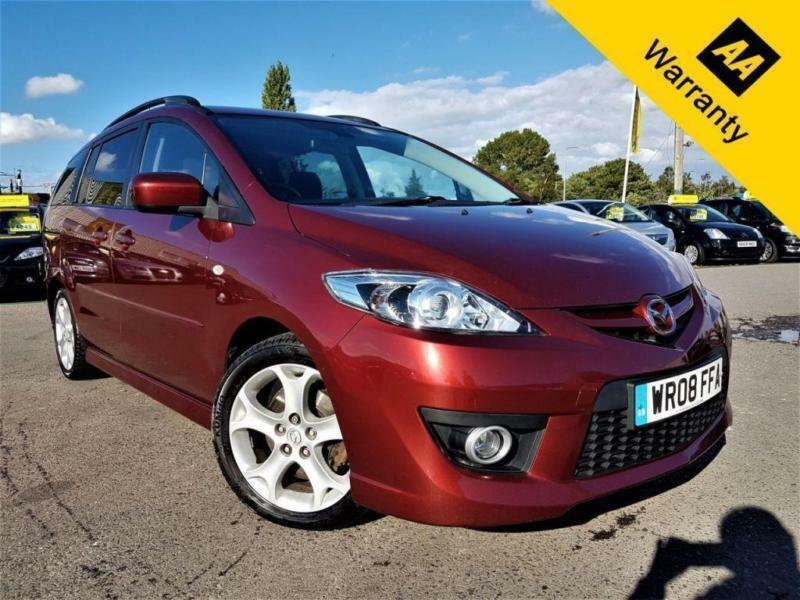 2008 MAZDA 5 2.0 SPORT D 143BHP+P/X WELCM2 OWNERS+FUL DEALER HIST+B-TOOTH+CRUISE