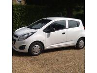 2013 (63 plate) Chevrolet Spark 1.0 LS 5 Door Ideal first car, low insurance, £30 tax