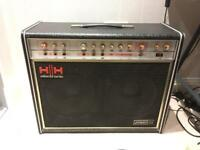 Rare and collectible HH 212 vs musician combo electric guitar amplifier vintage