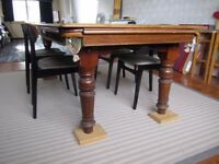 Pool Table/ Dining Table