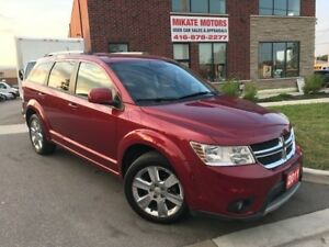 2011 DODGE JOURNEY CREW 147,000 KM, $9,999 SOLD CERTIFIED