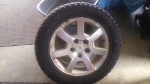 2007 Cadillac rims and snow tires