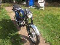 1965 BSA SS80 250cc Motorbike