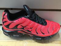 Nike air max TNs red/blk sole 6,7,8,9,10,11