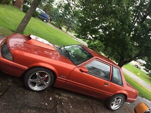 1988 Ford mustang carb 5.0 notch back