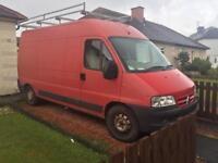 Citroen van for parts