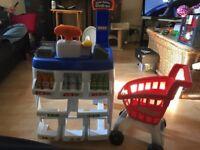 Shop & Shopping Trolley