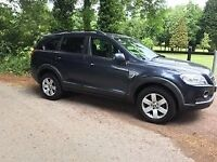 2008 CHEVROLET CAPTIVA 2.0 TURBO DIESEL FULL HISTORY LOW MILES 7 SEATER 4X4 MOT UNTIL MAY 2018